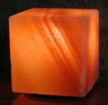 Himalayan Salt Crystal Cube Lamp
