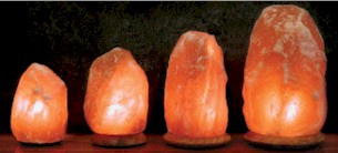 Himalayan Crystal Rock Salt Lamps image