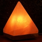 Himalayan Salt Crystal Pyramid Salt Lamp image