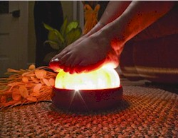 Himalayan Crystal Rock Salt Detoxer for Feet image