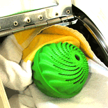 BioWashBall is a Green Eco-Friendly No Detergent Laundry Ball for Washing Clothes image