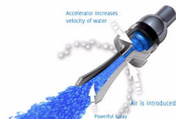 how oxygenics showerheads accelerate the velocity of water